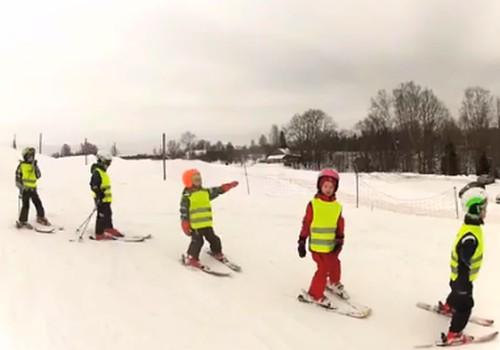 Bērnu slēpošanas skoliņa Žagarkalnā!