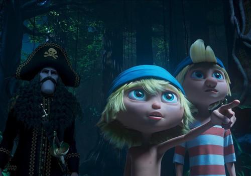 """LAIMĒ ielūgumus uz multenīti """"Kapteinis Zobenzobs un burvju briljants"""""""