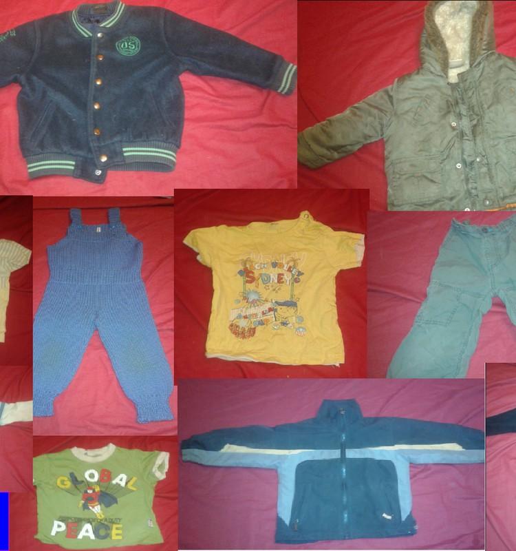 Pārdodu dēliņa vecās drēbītes