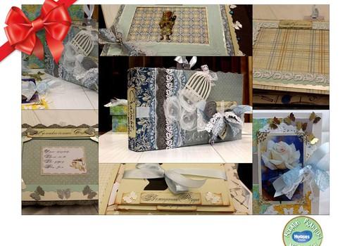 Huggies® svētku dāvanu katalogs: Fotoalbumi skrapbuking stilā
