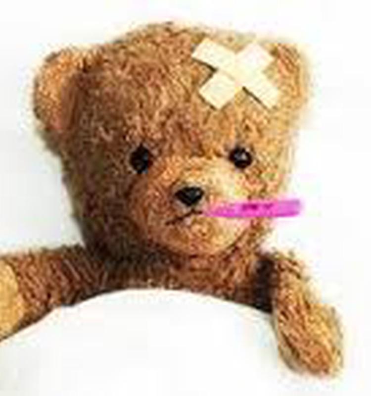 Pirmā temperatūra un pirmais slimnīcas apmeklējums!!
