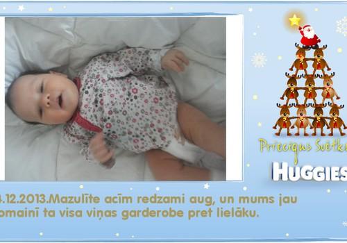 Katrīna aug kopā ar Huggies® Newborn: 47.dzīves diena