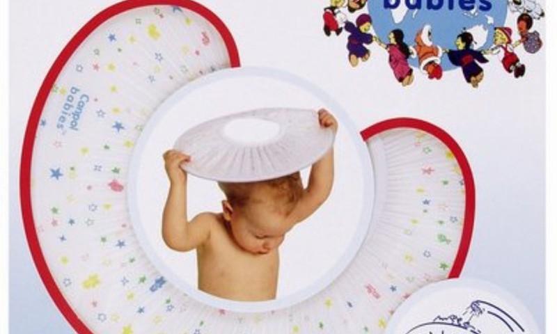 Gribi izmēģināt Canpol vannošanās cepurīti?