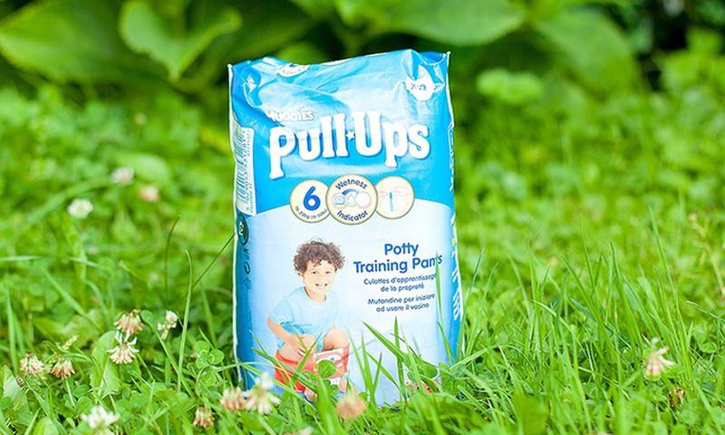 Autiņbiksītes Huggies® Pull-Ups® - mazuļiem, kas gatavojas draudzībai ar podiņu