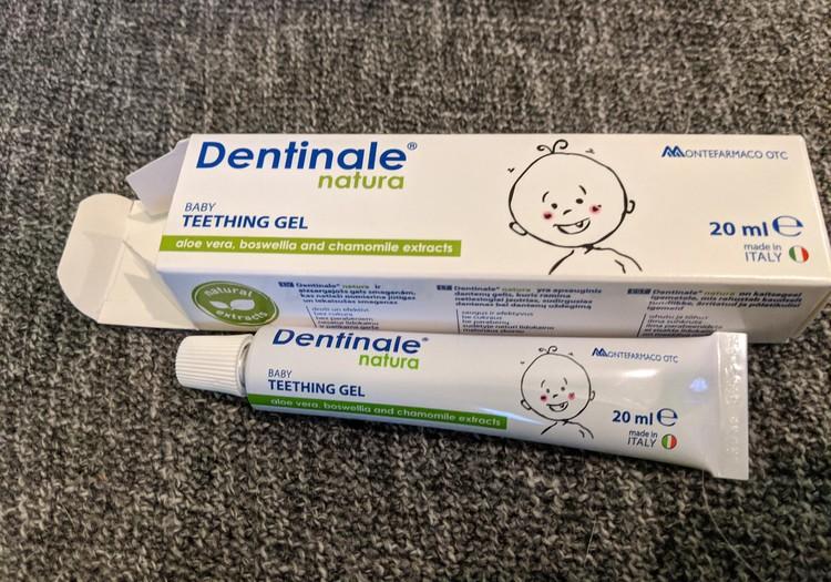 Dentinale zobu gēla tests