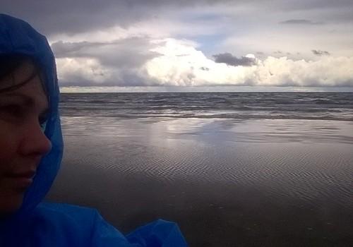 Šodienas pastaiga gar jūru