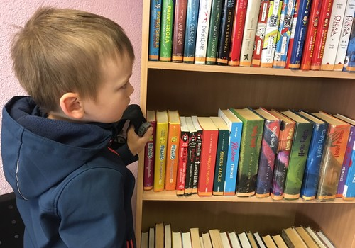 Pēc grāmatām ar dēlu ejam uz bibliotēku. Jūs arī?