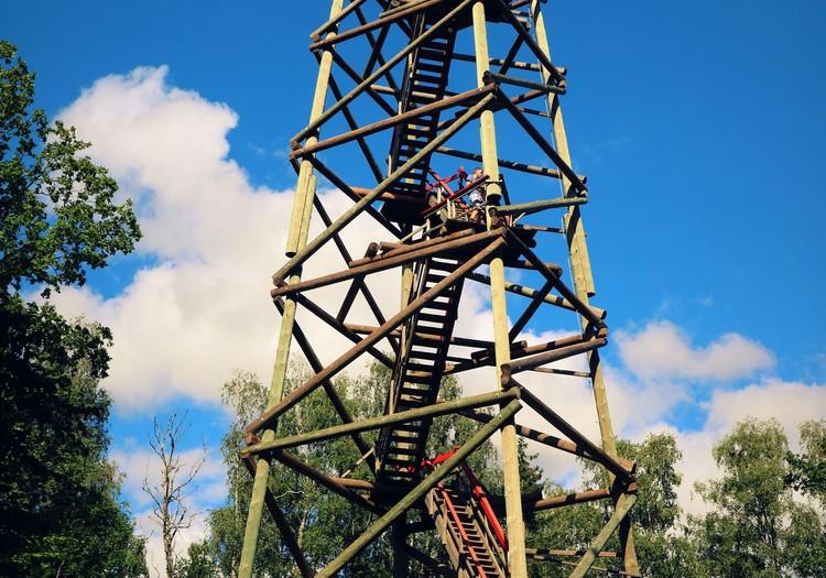 Kamparkalns un Kamparkalna skatu tornis