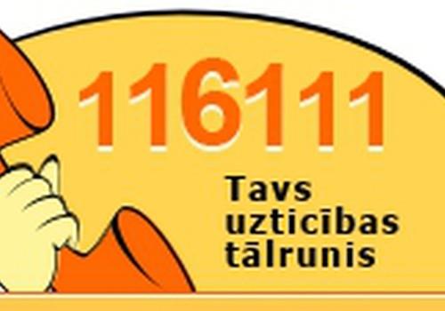 Uzticības tālruņa 116111 ikgadējā akcijā konsultēs pedagogus un vecākus