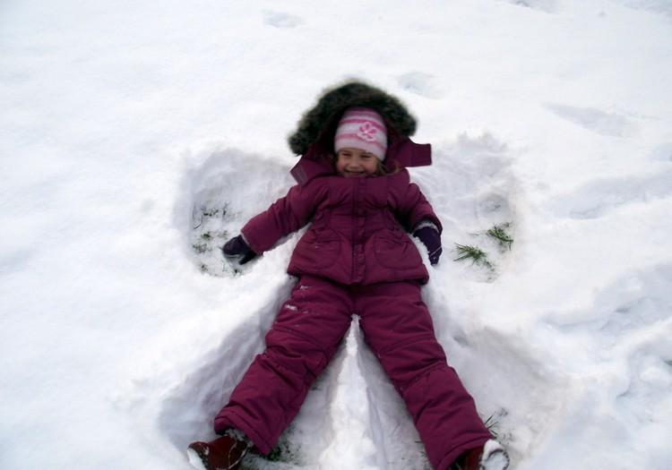 Kādā sniegotā ziemas dienā!
