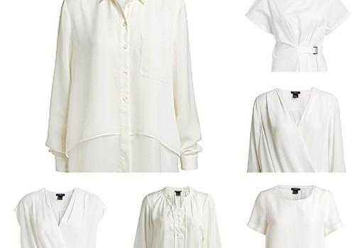 Tavā garderobē baltai blūzītei noteikti jābūt!