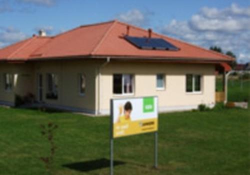 Ar JUNKERS un SEB bankas palīdzību Valmieras SOS bērnu ciematā uzstādītas divas saules kolektoru sistēmas