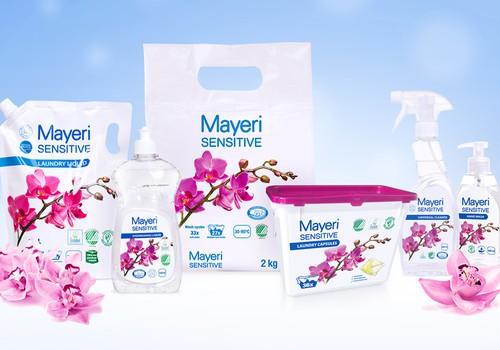 Piesakies Mayeri Sensitive šķidrā veļas mazgāšanas līdzekļa testiem!