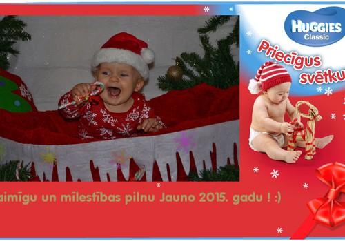 Regnāriņa pirmie Ziemassvētki :)