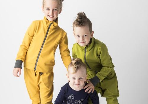 MODI DU un DIANA VAPSVE – Universāls, stilīgs minimālisms bērniem un vecākiem