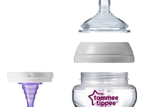 Tommee Tippee antiColic pudelītes tests