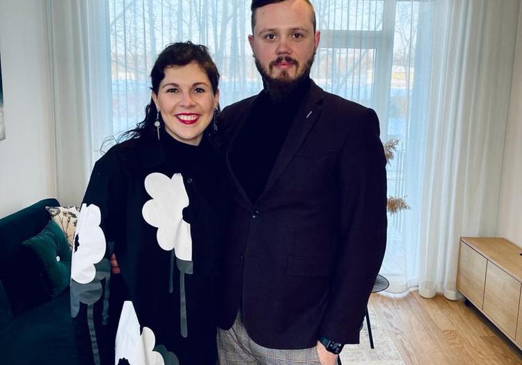 28.februāra TV raidījuma lielajā intervijā - Rūta Dūduma-Ķirse un Jānis Ķirsis