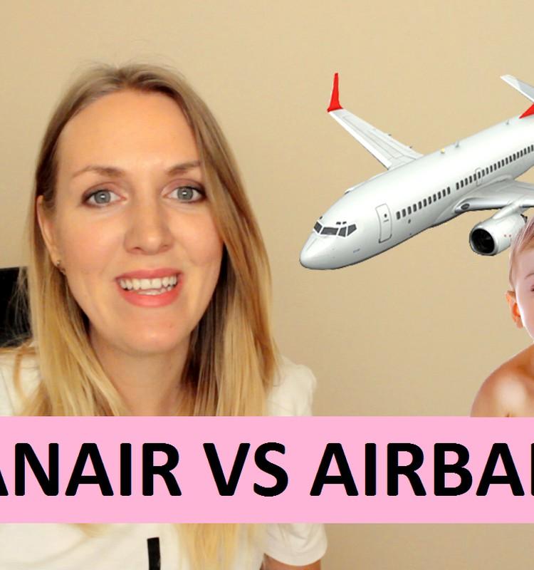 Manas pieredzes video: lidot ar zīdaini Ryanair vs Airbaltic