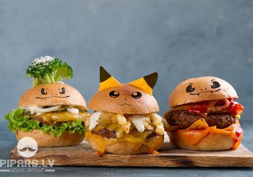 Pokemonu cienītājiem - Pokeburgeri