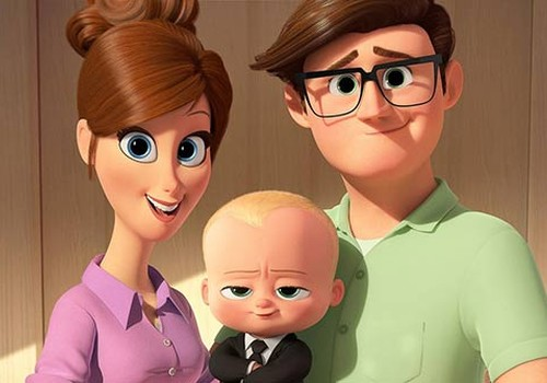 """Animācijas filmas """"Bēbis boss"""" pirmizrāde """"Bērnu rītā"""""""