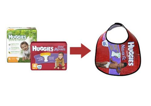 Huggies® par atkritumu šķirošanu!