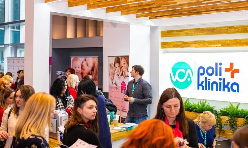 Veselība- rūpes Nr.1! Sieviešu festivālā VCA piedāvāja veselības izmeklējumus