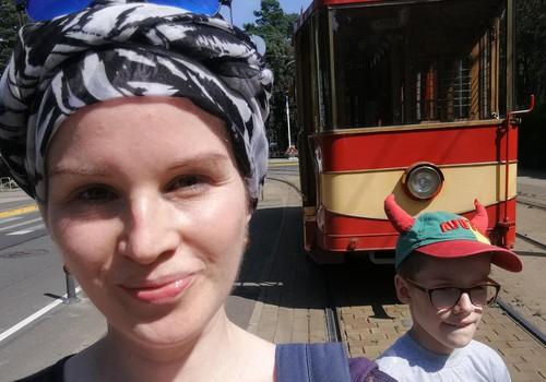 Topošā māmiņa sabiedriskajā transportā
