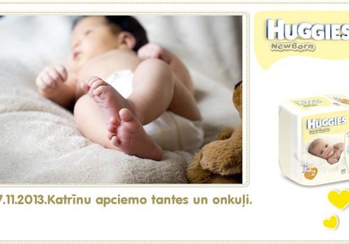 Katrīna aug kopā ar Huggies® Newborn: 30.dzīves diena
