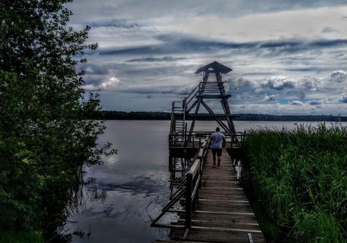 Slokas ezera dabas taka un Ragaciema bāka