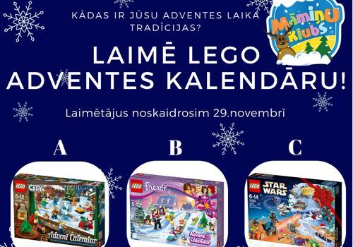 Ziemassvētku gaidīšanas KONKURSS: Laimē Lego Adventes kalendāru!