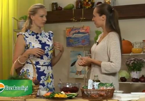 Veselības dienas ONLINE TV: Gatavosim gardus ēdienus ar Ezerkauliņu dārzeņiem