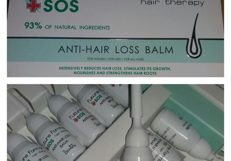 Dzintars Future Formula SOS balzams - sabiedrotais cīņā pret matu izkrišanu