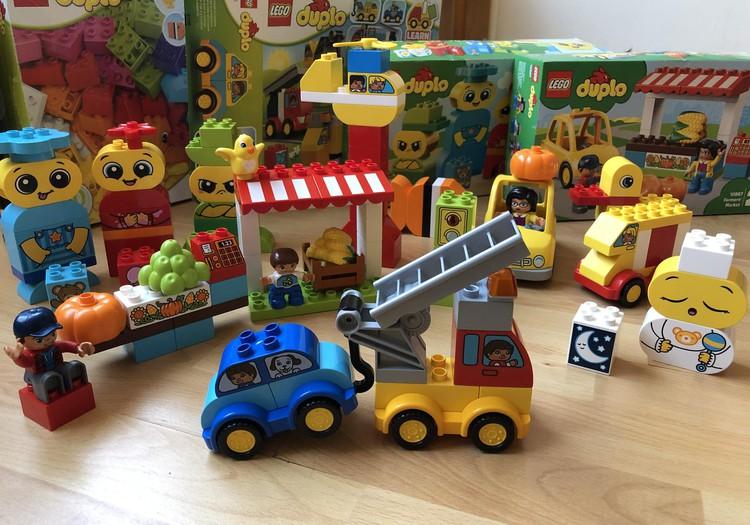 Lego duplo - lielisks rotaļu sabiedrotais!