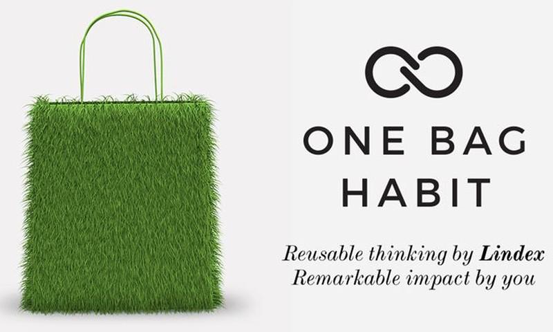 Iniciatīva One Bag Habit ilgtspējīgam maisiņu patēriņam