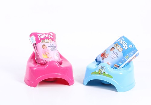 Huggies® Pull-Ups® podiņmācības biksīšu akcija Prisma veikalos!