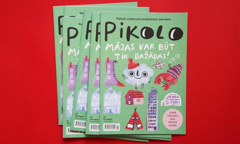 Pikolo žurnāls priecē bērnus ar otro izdevumu