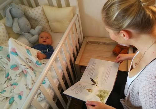Laimīga mazuļa dienasgrāmata: Seši mēneši vienā kustībā un iepazīstot pasauli.