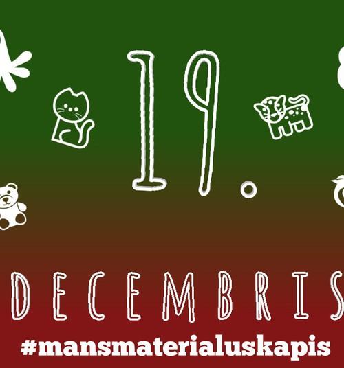 19. decembris - Otrā dzīve veciem žurnāliem #mansmaterialuskapis