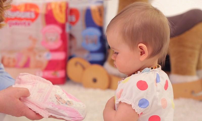 Mazulis Tavās rokās - mainām autiņbiksītes