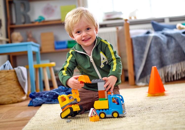KONKURSS: Būvējiet kopā un laimējiet LEGO® DUPLO