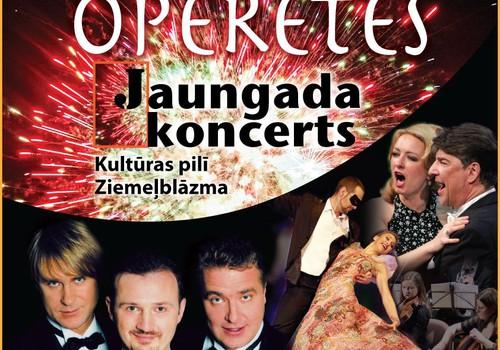 Operetes Jaungada koncerti 14. un 29.decembrī plkst.18.00 kultūras pilī Ziemeļblāzma