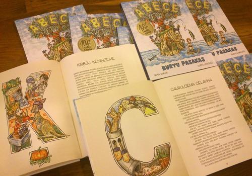 """Izdevniecība """"White Book"""" turpina izdot latviešu oriģināldarbus – klajā nāk """"Ābece. Burtu pasakas"""""""