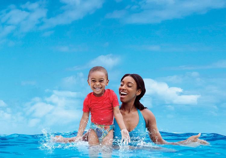 Kā iemācīt bērnam peldēt?