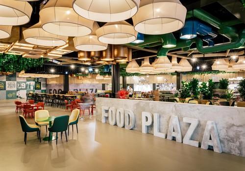 Rīga Plaza pēc rekonstrukcijas atklāj Latvijā lielāko ēdināšanas zonu