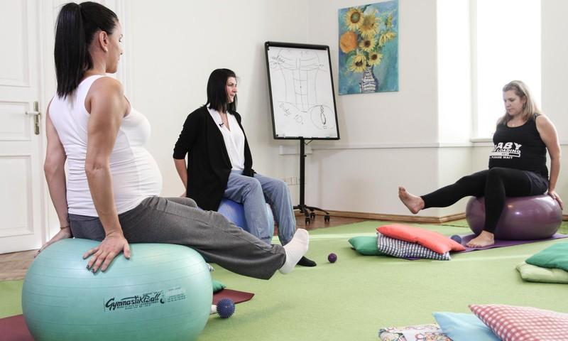 Trešdienās aicinām topošās māmiņas uz vingrošanas nodarbībām ar fizioterapeiti Kristīni Asonovu