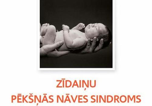 E-GRĀMATA par zīdaiņu pēkšņās nāves sindromu un bērnu traumatismu