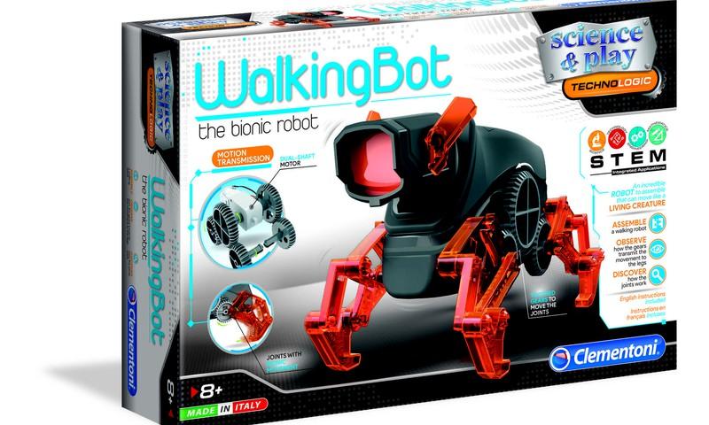 "Komentāru KONKURSS: Laimē Clementoni robotu ""WalkingBot""!"