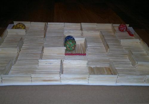 3D labirints pašu rokām