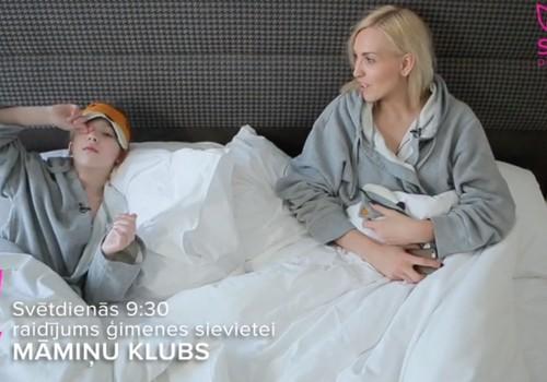 08.04.2018.STV: vingrošana ūdenī grūtniecības laikā, cukurs uzturā, blondu matu kopšana, intervija ar Māru Upmani- Holšteini