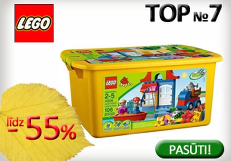 Interneta veikalā 220.lv atlaides LEGO komplektiem